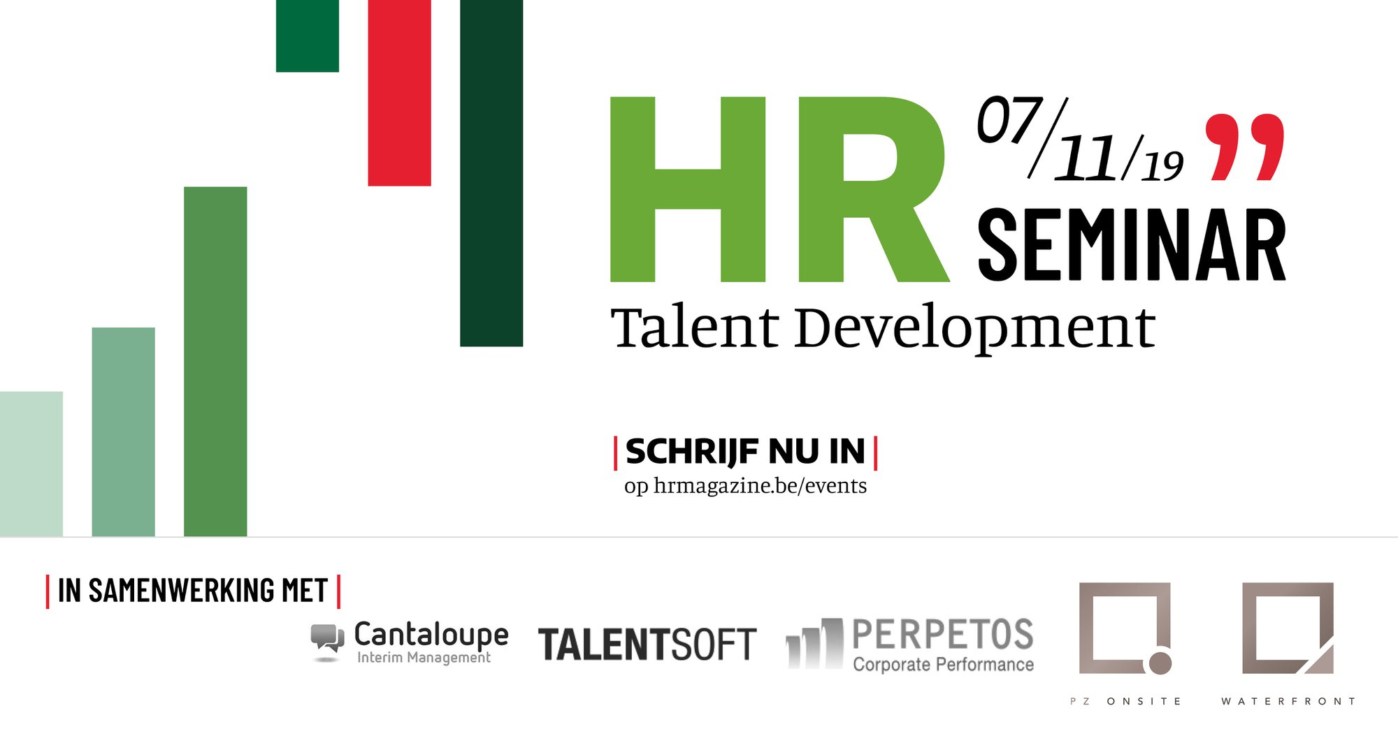 HRseminar Talent Development | 7 november 2019